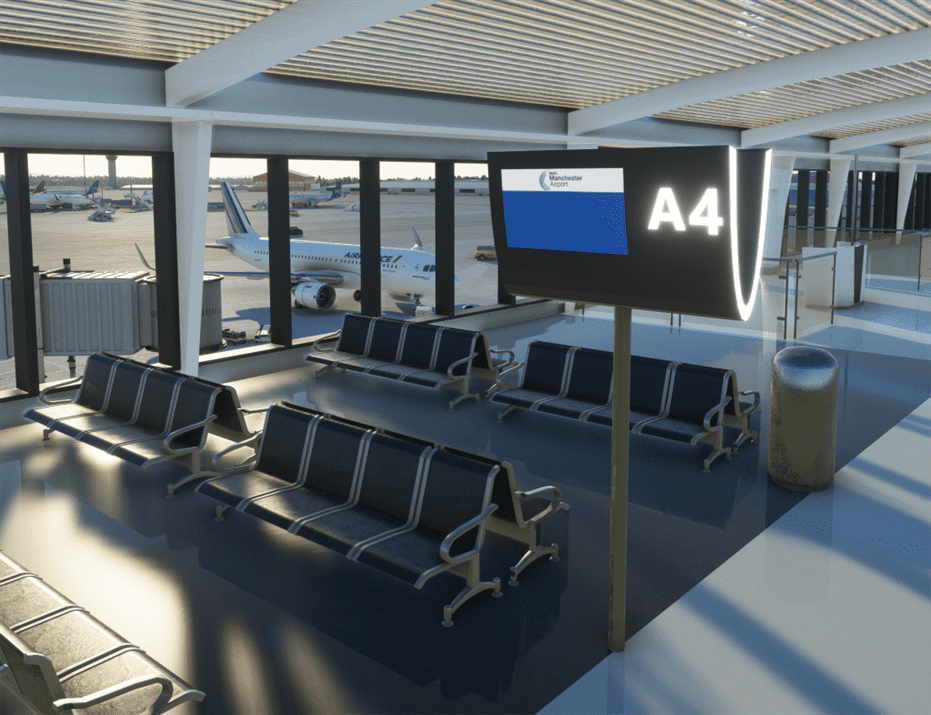 EGCC Manchester Airport for Flight Simulator 2020